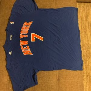 ADIDAS NEW YORK KNICKS  (CLEAN NOT IRONED) SIZE XL